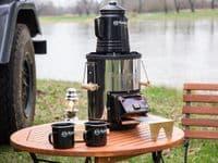 Petromax Perkomax Enamel Coffee Percolator Pot - Black